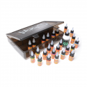 Eternal Ink - Kit de voyage - 25 encres (15ml) + Stencil Stuff (120ml) dans une boite Blaq Paq Sullen Clothing