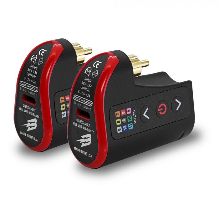FK Irons Darklab: Pack Batterie sans fil RCA Lightning Bolt - Pack Double