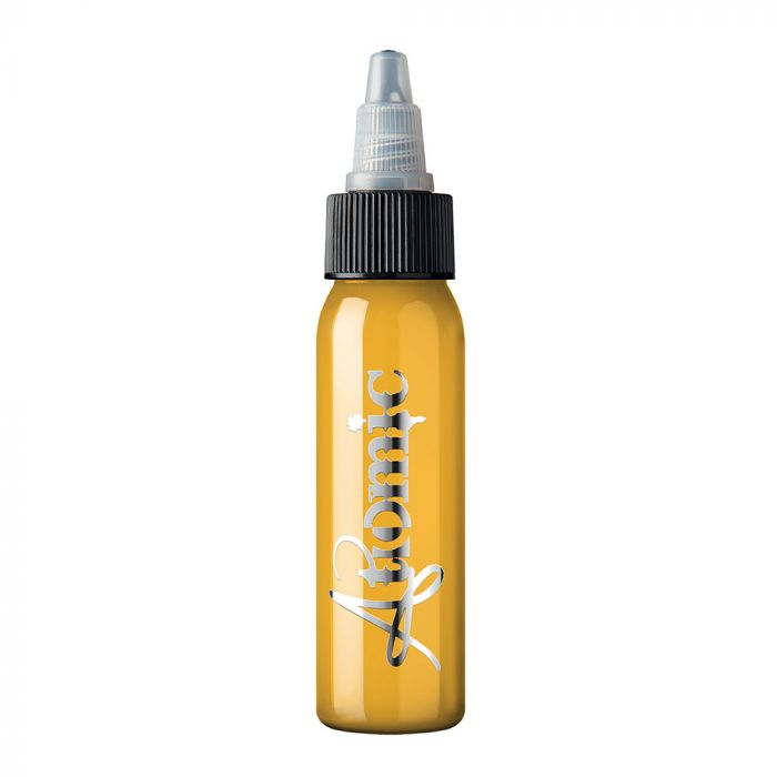 Atomic Tattoo Ink - Uncut Yellow (30ml)