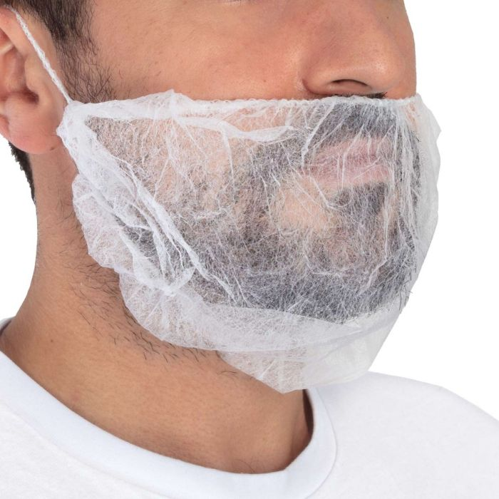 Pack de 100 Couvre-Barbe