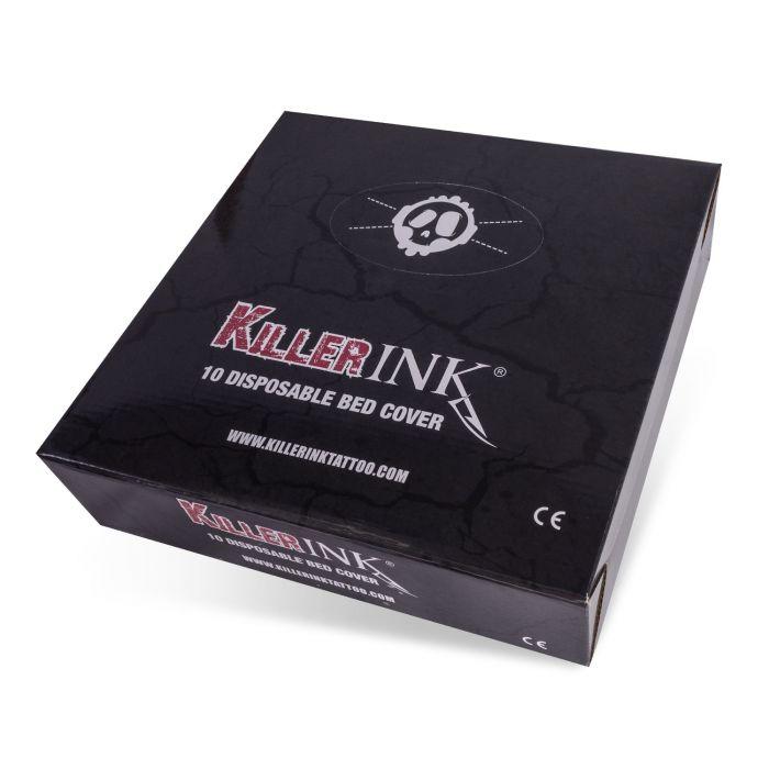 Killer Ink - Boite de 10 Couvre-Lits Élastiques (210x90x20cm)