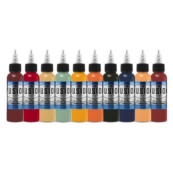 Fusion Ink - Palette Signature Ben Kaye - Set complet 10 encres (30ml)