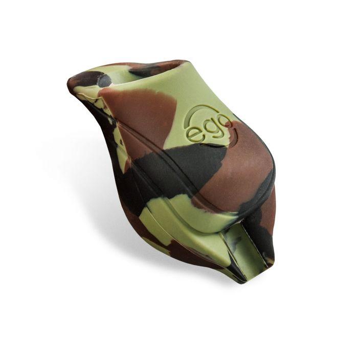 Paquet de 2 Surmanchons Biogrips EGO en Silicone Pour Manchons 25MM - Camouflage Vert