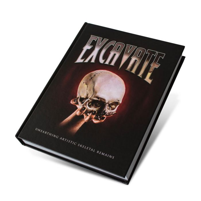 Excavate: Unearthing Artistic Skeletal Remains - Édition Originale (Out of Step Books)