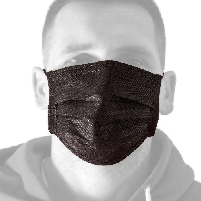 Boîte de 50 Masques pour le visage Killer Ink Black Line