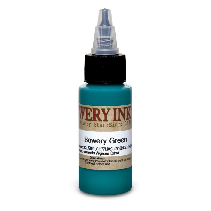 Encre Intenze Ink - Bowery Ink par Stan Moskowitz - Green (30ml)