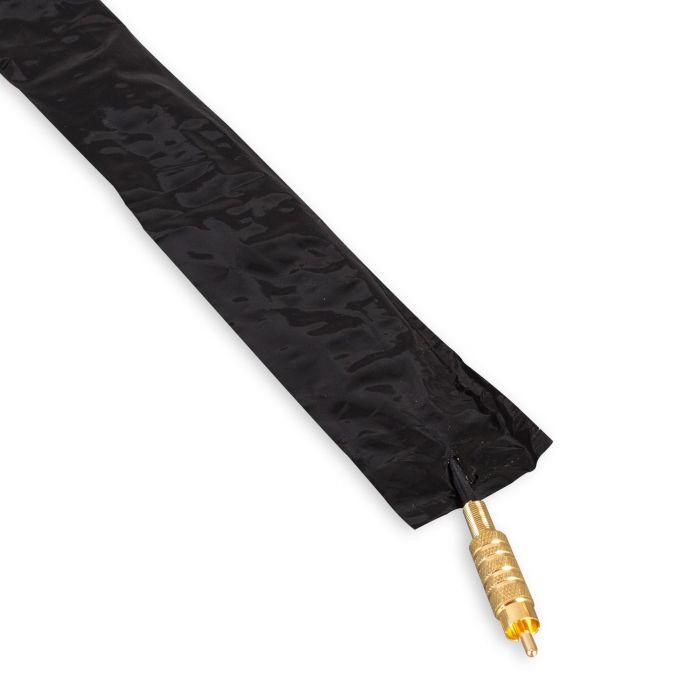 Killer Ink Black Line - Boite de 250 Gaines de Protection pour Câbles Clip-Cord - Noir