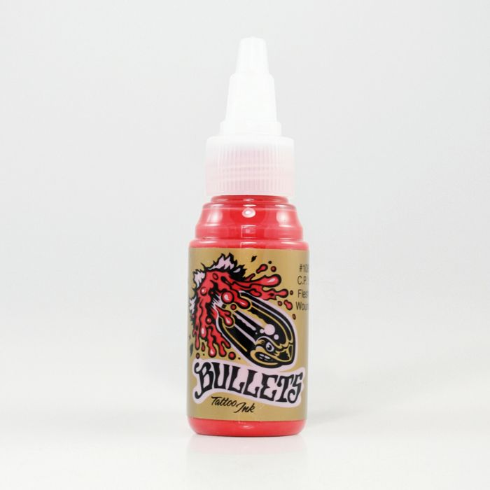 Encre Bullets Tattoo Ink - C.P.'s Flesh Wound (35ml)