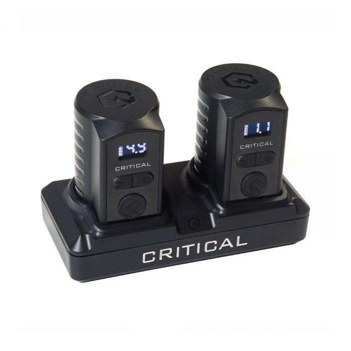 Pack Batterie Universelle Critical (Deux Batteries + Station)