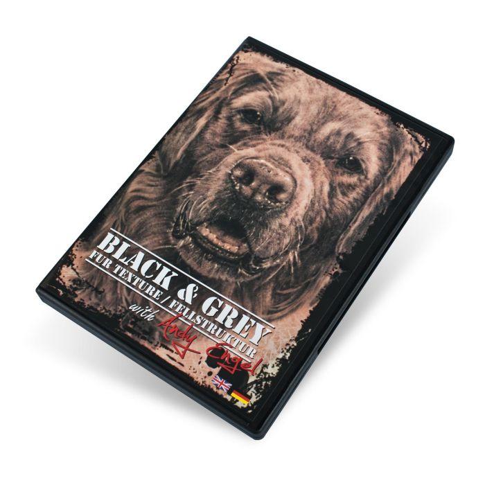 DVD Black & Grey Fur Texture avec Andy Engel (Textures de Fourrures Noirs & Gris)