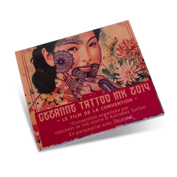 DVD Cezanne Tattoo Ink 2014 - Le Film de la Convention