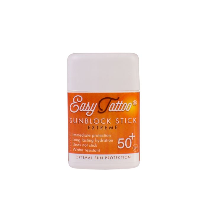 Easytattoo Extreme Sun Block - Stick protection solaire SPF50 (10g)