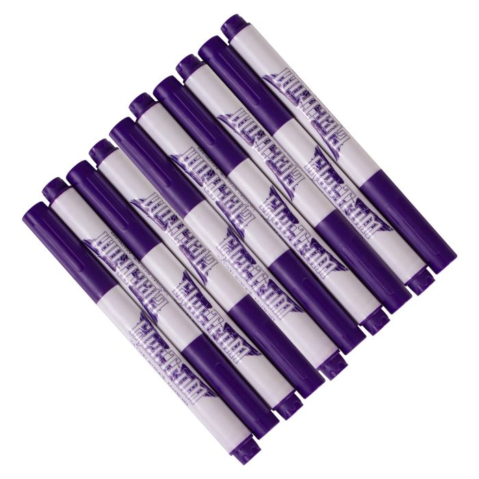 Feutres pour la peau à usage unique Electrum - Violet (résistants à l'alcool)