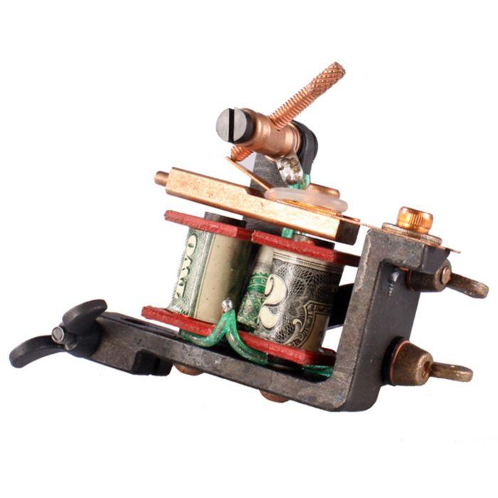 Machine à tatouer Emillion - Minijones - Disponible en Liner ou Shader (Fabriquée aux Pays-Bas)