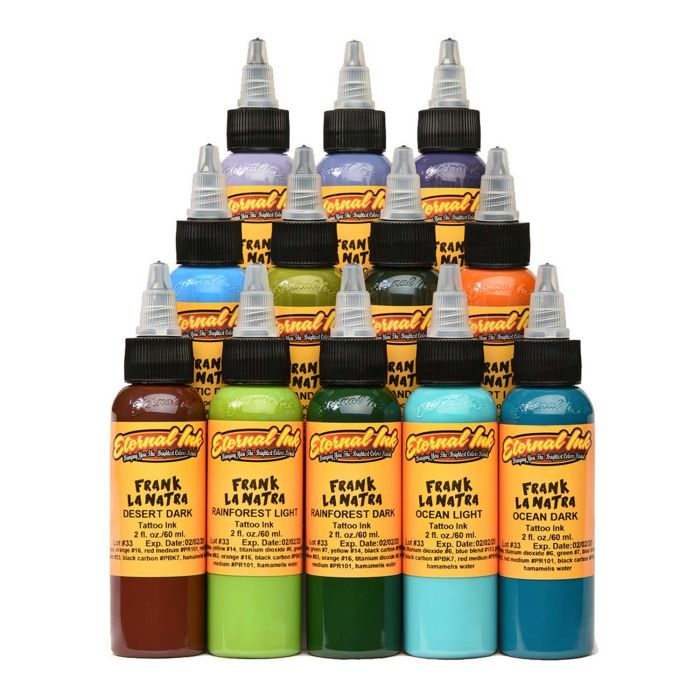 Eternal Ink - Frank La Natra Atmospheric Landscapes - Set complet 12 encres (30ml)