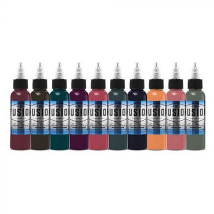 Fusion Ink - Palette Signature Evan Olin - Set complet 10 encres (30ml)