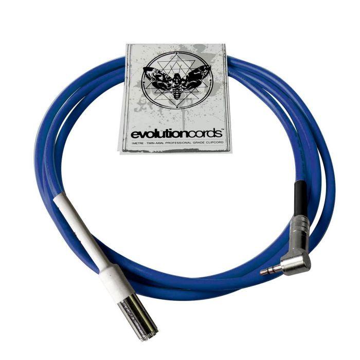 Evolution Cords - Câble Ultrilight Mini Jack Femelle Cheyenne à Mini Jack à Angle Droit (2m)