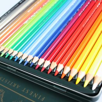 Faber-Castell - Boite Métallique Albrecht Durer (24 Crayons pour Aquarelles)