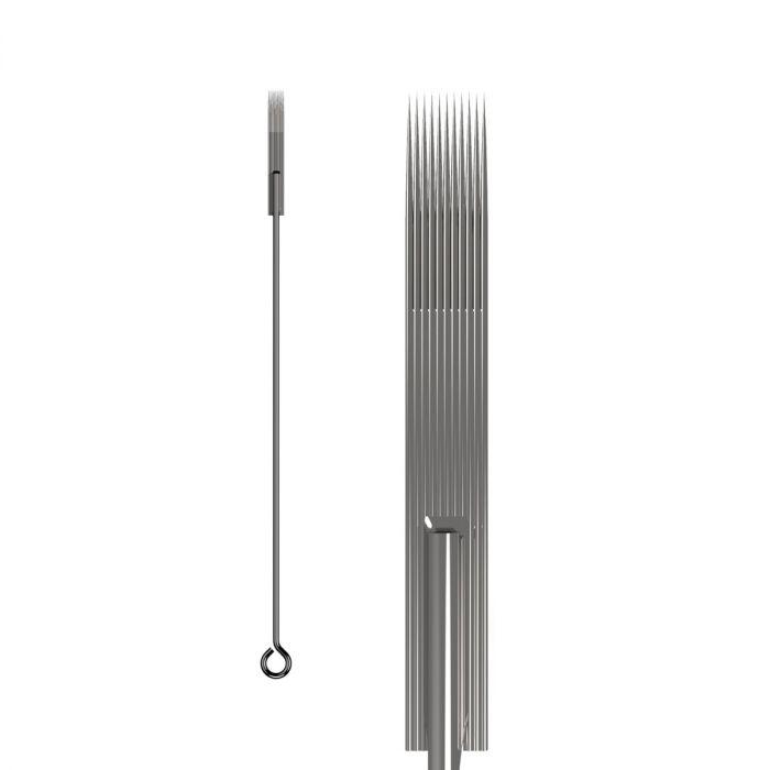 Boite de 50 aiguilles KWADRON 0,35mm LONG TAPER - Flat