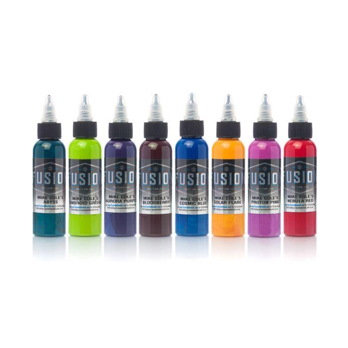 Encre Fusion Ink - Set Complet Palette Signature Mike Cole 8 Encres