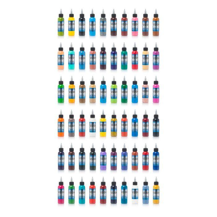 Fusion Ink - Set complet  de 60 encres