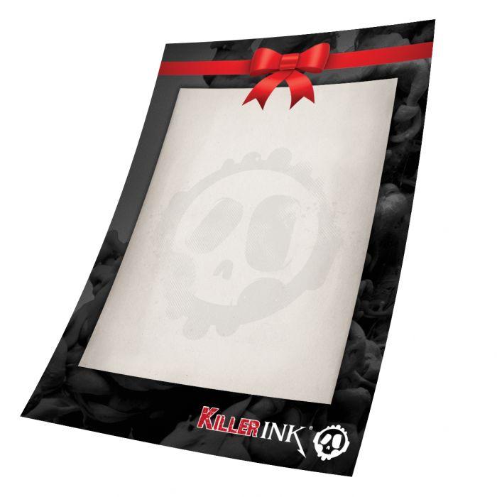 Chèque Cadeau Killer Ink de 50 €