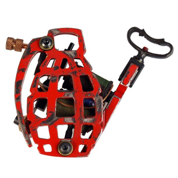 Machine à Tatouer Bavarian Custom Irons - Pineapple - B+G Shader (Ombreuse Noir & Gris)