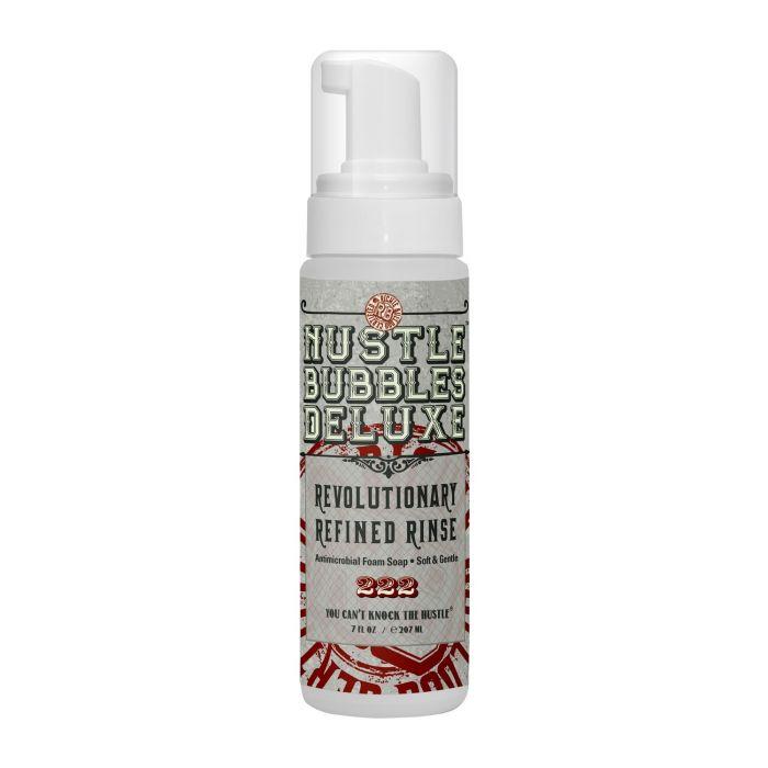Hustle Bubbles Deluxe - Soin nettoyant antimicrobien moussant (207ml)