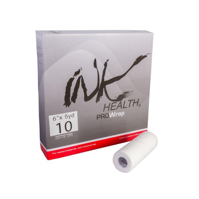 Boite de 10 bandes auto-adhésives INK HEALTH PROWrap (15cm x 4,5m)