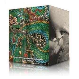 Intenze Ink - Japaneze Dragon Colors - Set complet 6 encres (30ml)