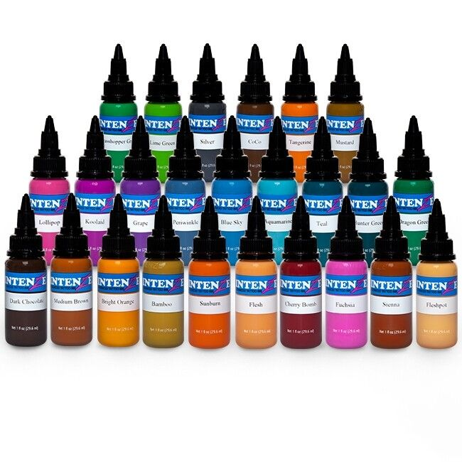 Encre Intenze Ink - Set Complet New Original 25 Encres (30ml)