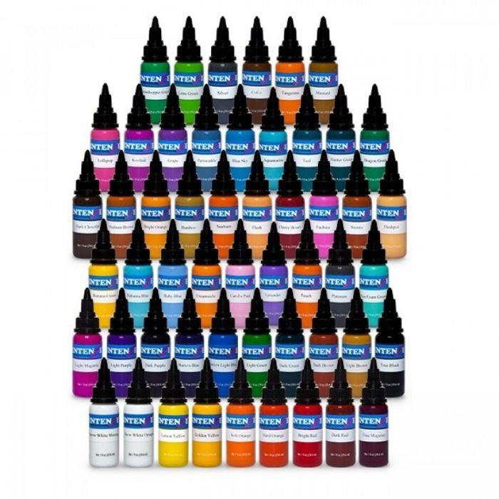 Encre Intenze Ink - Set Complet 54 Encres - Basic + New Original + Pastel (30ml)
