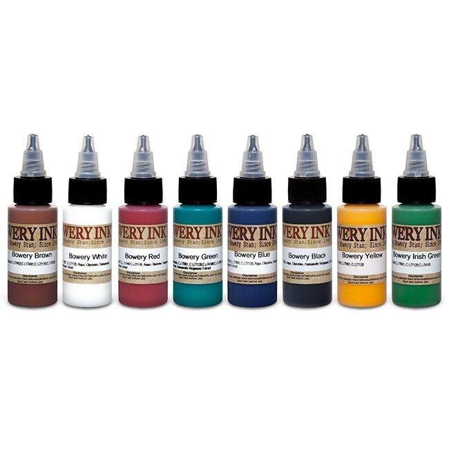 Intenze Ink - Stan Moskowitz Bowery Ink - Set complet 8 encres (30ml)
