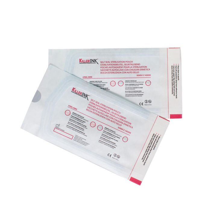 Killer Ink - Boite de 200 pochettes hermétiques pour stérilisation en autoclave