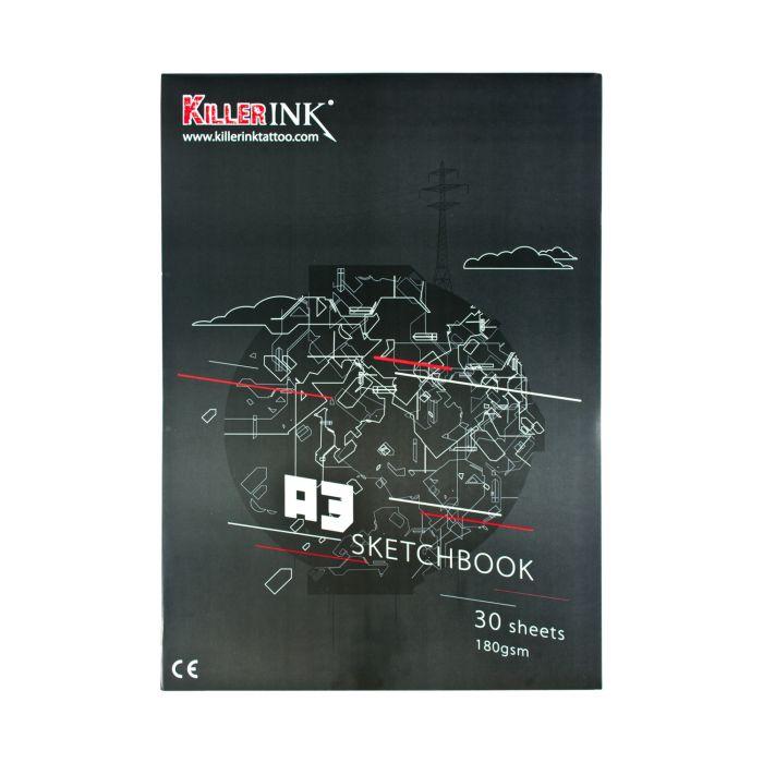 Killer Ink - Bloc de papier calque A3 ou A4 63GSM (50 feuilles)