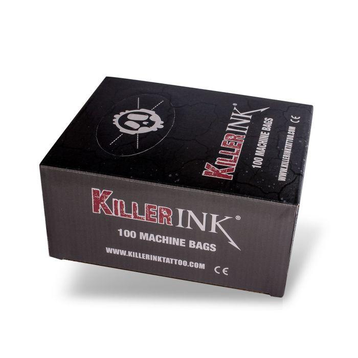 Killer Ink - Boite de 100 Gaines de Protection pour Machines à Tatouer