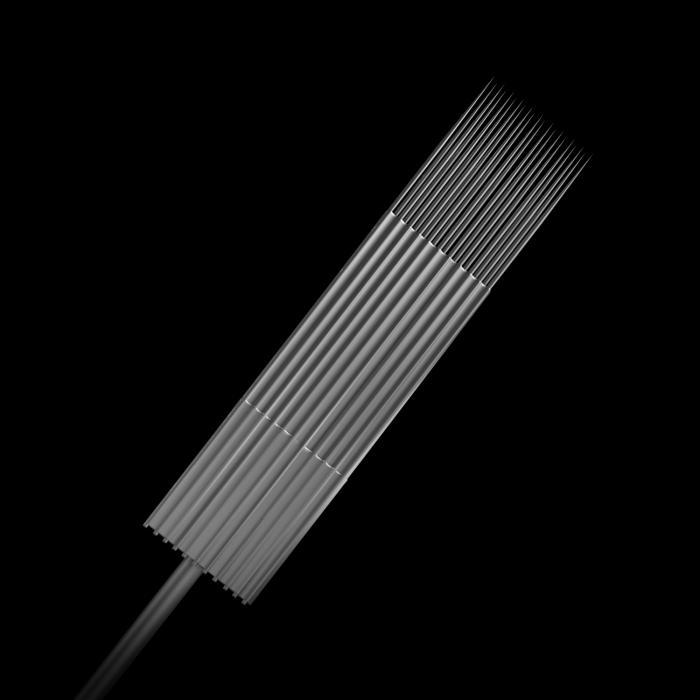 Pack de 5 Aiguilles pour Tatouage en Acier Inoxydable Stériles Killer Ink Bug Pin (0,25mm) Magnum M1