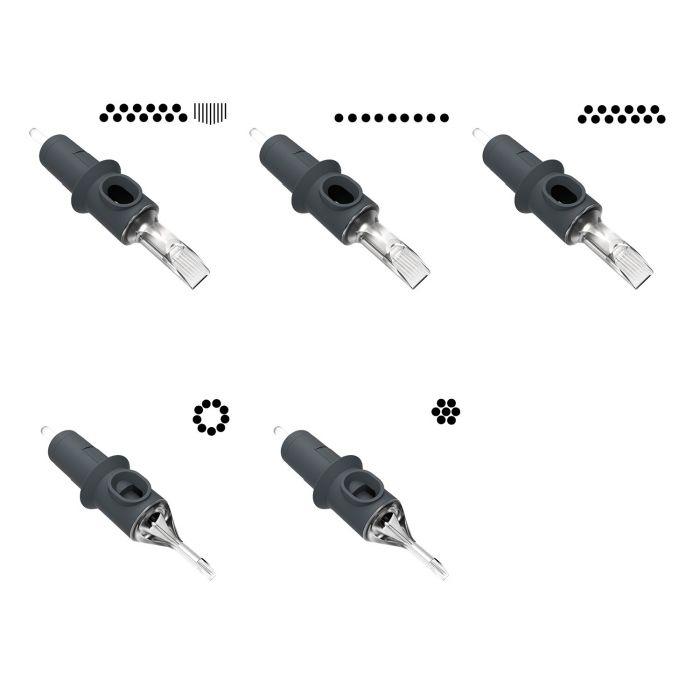 Boite de 20 Cartouches d'aiguilles Killer Ink Precision - Toutes configurations confondues
