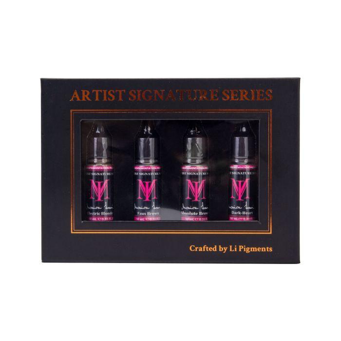 Set Complet de 4 Monica Ivani Signature Series par Li Pigments 10 ml