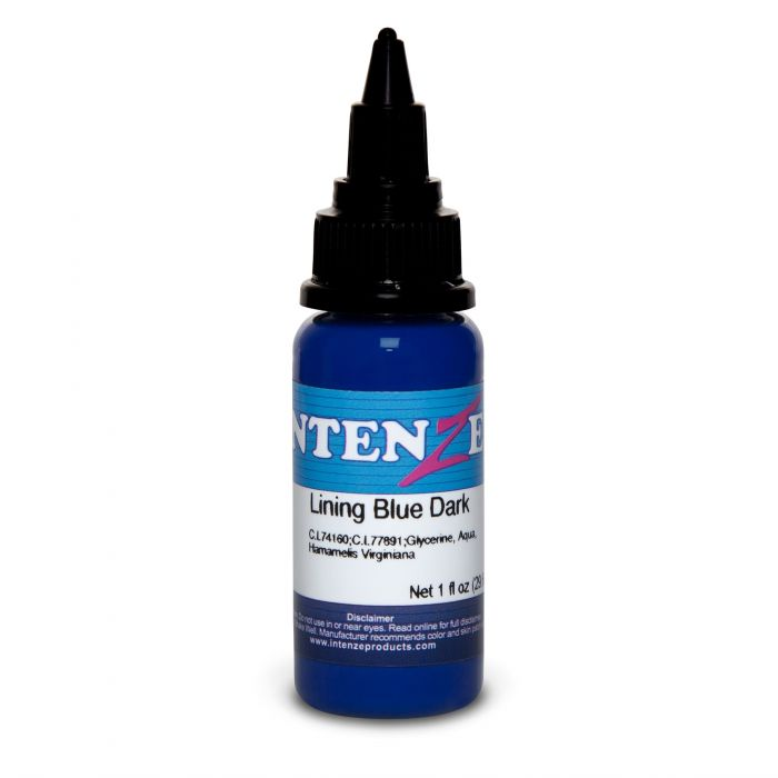 Encre Intenze Ink - Color Lining Series - Lining Blue Dark (30ml)