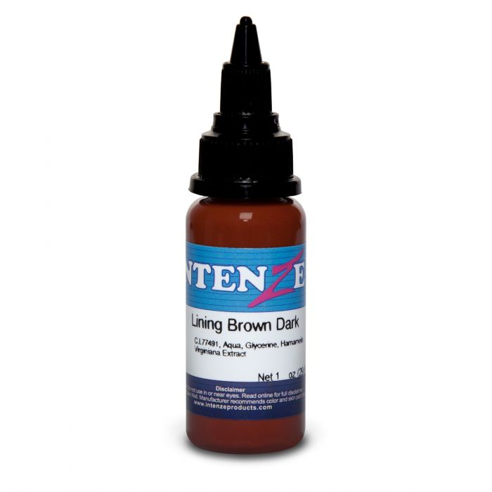 Encre Intenze Ink - Color Lining Series - Lining Brown Dark (30ml)