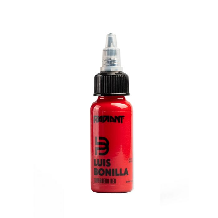 Radiant Colors Luis Bonilla Superhero Red 30ml