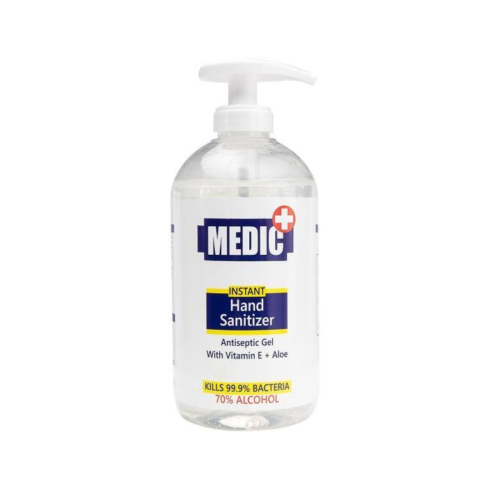 Gel Antiseptique pour les Mains Medic Instant 70% Alcool 500 ml