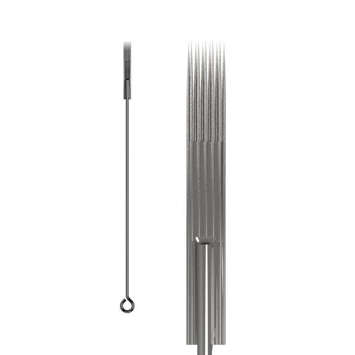 Boite de 50 aiguilles KWADRON 0,35mm LONG TAPER - BUGPIN (Texturées) - Magnum