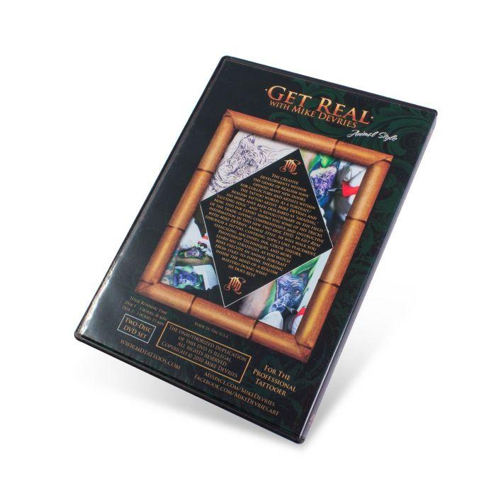 DVD Get Real - Mike De Vries