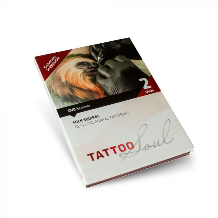 DVD Realistic Animal Tattooing - Mick Squires