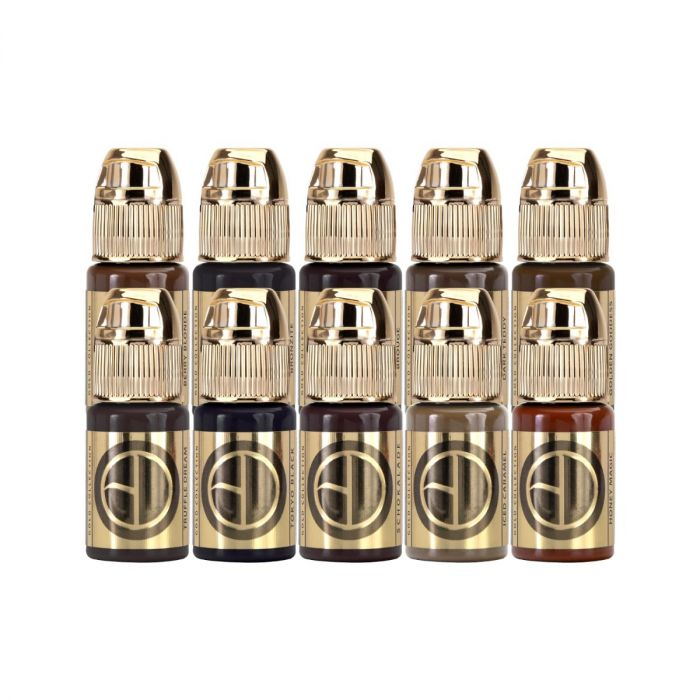 Brow Daddy Gold Collection by Perma Blend - 10x 15ml