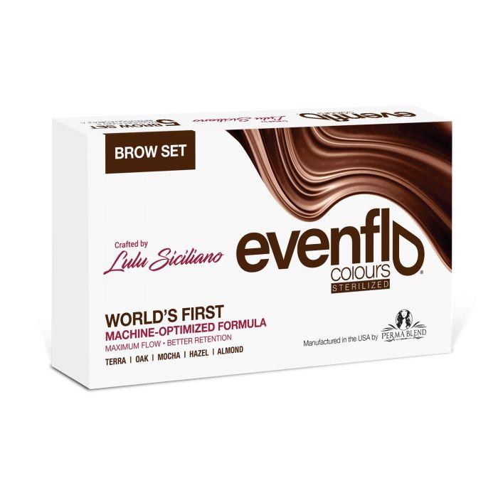 Perma Blend - Set Evenflo Brows - Set Complet de 5 x (15ml)