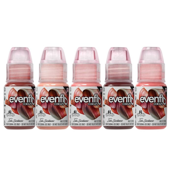 Perma Blend - Set Evenflo Lips - Set Complet de 5 x (15ml)