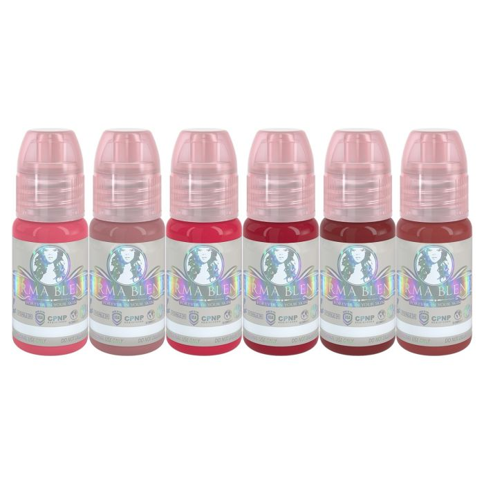 Perma Blend - Six For Lips - Set Complet de 6 x (15ml)